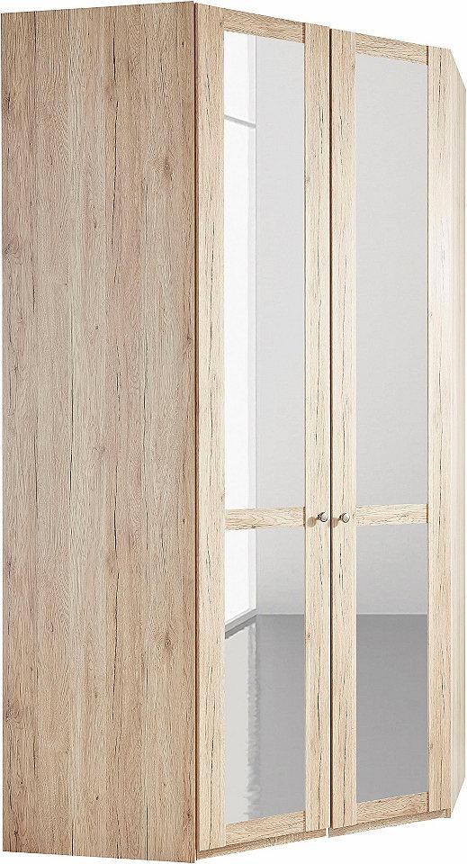 wimex eckkleiderschrank newport mit spiegel online kaufen. Black Bedroom Furniture Sets. Home Design Ideas