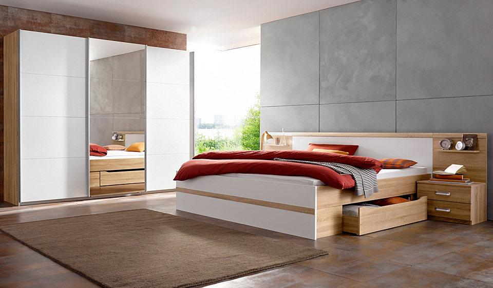 Schlafsofa Couch: Schlafzimmer Set Schwebetürenschrank
