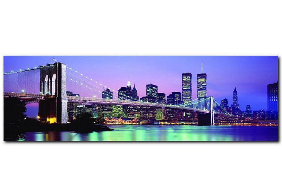 wandbild new york wandbild new york with wandbild new york affordable architektur wandbilder. Black Bedroom Furniture Sets. Home Design Ideas